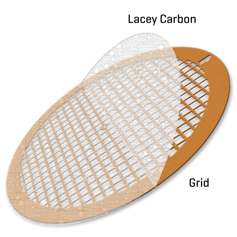 Lacey Carbon film on Nickel 300 mesh (100)