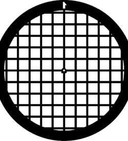 TG100 Gold Square mesh TEM grid, pack of 50