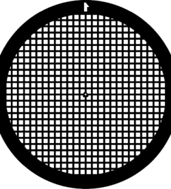 TG250 Gold Square mesh TEM grid, pack of 50