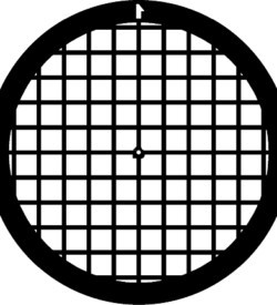 TG100 Copper Palladium Square mesh TEM grid, pack of 100