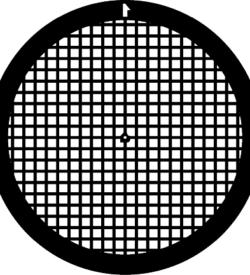 TG200 Copper Palladium Square mesh TEM grid, pack of 100