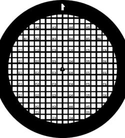 TG200F1 Gold   Finder grids TEM grid, pack of 50