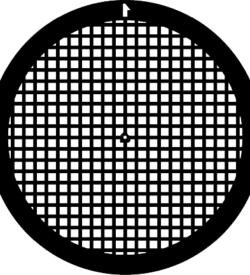 TG200TH Copper Square mesh TEM grid, pack of 100