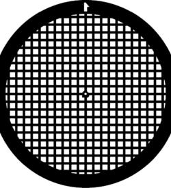 TG200TH Copper Palladium Square mesh TEM grid, pack of 100