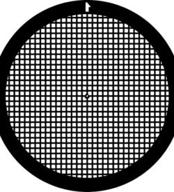 TG300 Copper Palladium Square mesh TEM grid, pack of 100
