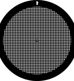 TG400 Copper Palladium Square mesh TEM grid, pack of 100