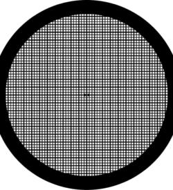 TG600TT Copper Palladium Square mesh TEM grid, pack of 100