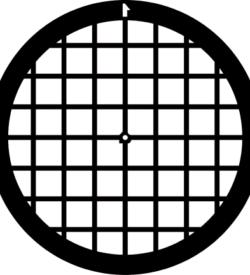 TG75 Copper Palladium Square mesh TEM grid, pack of 100