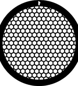 TG150HEX Gold   Hex mesh TEM grid, pack of 50