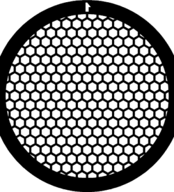 TG150HEX Copper  Hex mesh TEM grid, pack of 100