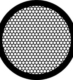 TG200HEX Copper  Hex mesh TEM grid, pack of 100
