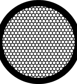 TG200HEX Nickel   Hex mesh TEM grid, pack of 100